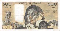 France 500 Francs Pascal - 07-06-1979 - Série A.104 - TTB