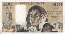 France 500 Francs Pascal - 07-06-1979 Série A.100 - PTTB