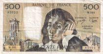 France 500 Francs Pascal - 07-06-1979 Série H.101 - TTB