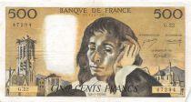 France 500 Francs Pascal - 08-01-1970 Série G.22 - TTB