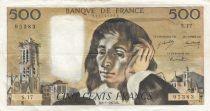 France 500 Francs Pascal - 08-01-1970 Série S.17 - TTB
