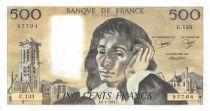 France 500 Francs Pascal - 08-01-1981 - Série U.133 - SUP
