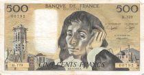 France 500 Francs Pascal - 08-01-1981 Série H.129 - TTB