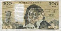 France 500 Francs Pascal - 08-01-1987 Série B.254 - TB