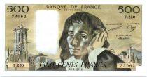 France 500 Francs Pascal - 08-01-1987 Série F.250