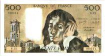 France 500 Francs Pascal - 1969 -  N.12