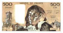 France 500 Francs Pascal - 1977-11-3 - U.83