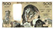 France 500 Francs Pascal - 1979-6-7 - Q. 105
