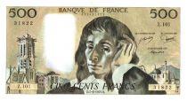 France 500 Francs Pascal - 1979-6-7 - X. 101