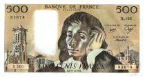 France 500 Francs Pascal - 1979-6-7 - X. 103