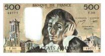 France 500 Francs Pascal - 1979-6-7 - Z. 101