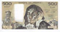 France 500 Francs Pascal - 1980