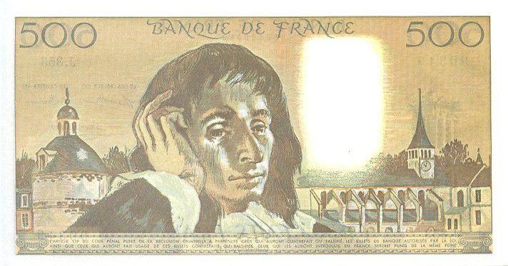 France 500 Francs Pascal - 1991