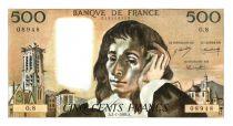 France 500 Francs Pascal - 2-1-1969 - O.8