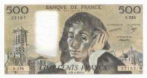 France 500 Francs Pascal - 22-01-1987 - S.258