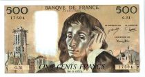 France 500 Francs Pascal - 6-11-1975 - G.51