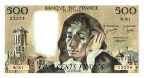 France 500 Francs Pascal - 7-6-1979 - W. 101