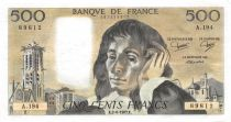 France 500 Francs Pascal - St Jacques Tower - 02-06-1983 - Serial A.194 - XF
