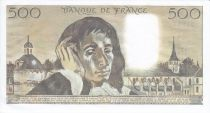 France 500 Francs Pascal - St Jacques Tower - 04-09-1980 Serial Q.124