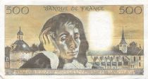 France 500 Francs Pascal - St Jacques Tower - 04-10-1973 - Serial L.31 - F to VF