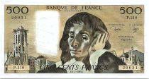 France 500 Francs Pascal - St Jacques Tower - 05-07-1984- P.210 - UNC