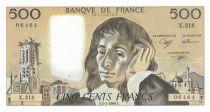 France 500 Francs Pascal - St Jacques Tower - 05-07-1990 - X.318 - UNC