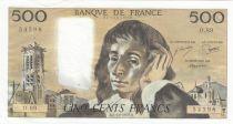 France 500 Francs Pascal - St Jacques Tower - 05-10-1978 - O.89 - UNC