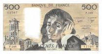 France 500 Francs Pascal - St Jacques Tower - 06-01-1983 - Serial F.169 - XF
