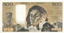 France 500 Francs Pascal - St Jacques Tower - 06-11-1969- G.14 - XF