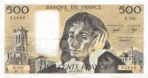 France 500 Francs Pascal - St Jacques Tower - 07-06-1979 - Serial B.102 - VF