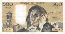 France 500 Francs Pascal - St Jacques Tower - 07-06-1979 - Serial E.101 - VF
