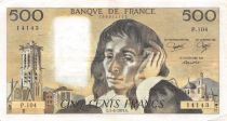 France 500 Francs Pascal - St Jacques Tower - 07-06-1979 - Serial P.104 - VF