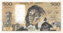 France 500 Francs Pascal - St Jacques Tower - 07-06-1979 - Serial U.106 - VF