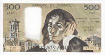 France 500 Francs Pascal - St Jacques Tower -1969