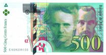 France 500 Francs Pierre and Marie Curie - 1994 Serial E.28