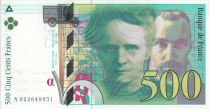 France 500 Francs Pierre and Marie Curie - 1994 Serial N.022