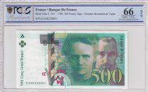 France 500 Francs Pierre et Marie Curie - 1994 - PCGS 66OPQ