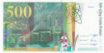 France 500 Francs Pierre et Marie Curie - 1994 Série A.008