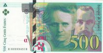 France 500 Francs Pierre et Marie Curie - 1994 Série K009