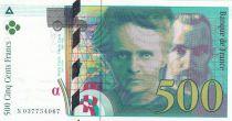 France 500 Francs Pierre et Marie Curie - 1994 Série N037