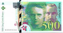 France 500 Francs Pierre et Marie Curie - 1995 Série B.034