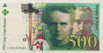 France 500 Francs Pierre et Marie Curie - 1995 Série C.032 - SUP