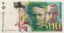France 500 Francs Pierre et Marie Curie - 1995 Série P.031 - TTB