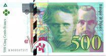 France 500 Francs Pierre et Marie Curie - 1995 Série R.033
