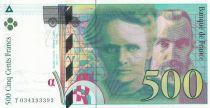France 500 Francs Pierre et Marie Curie - 1995 Série T034