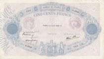 France 500 Francs Pink and blue - 02-06-1938 Serial A.2936 - VF