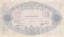 France 500 Francs Rose et Bleu - 07-12-1939 Série Q.3844