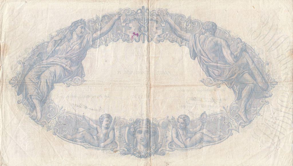 France 500 Francs Rose et Bleu - 08-06-1936 Série T.2380 - TTB