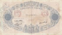 France 500 Francs Rose et Bleu - 09-03-1933 Série L.2148