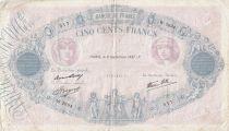 France 500 Francs Rose et Bleu - 09-09-1937 Série W.2694
